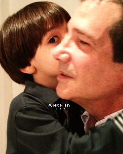 Luca and Celso Celico grandfather