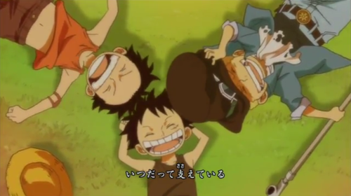 Luffy, Ace, Sabo  - one-piece Photo