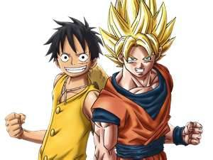 Luffy and Goko