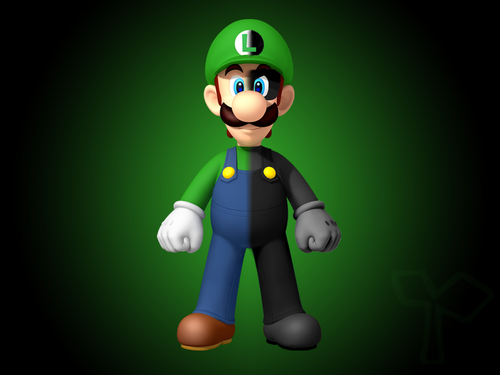 Super Mario Bros. wallpaper entitled Luigi_and_Mr_L_Wallpaper