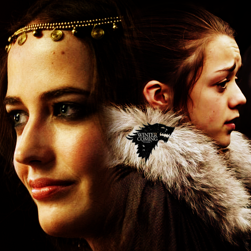 Lyanna and Arya Stark