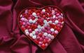 M&M's cœur, coeur