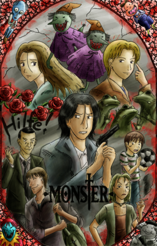 Monster wallpaper probably containing anime called MONSTER.