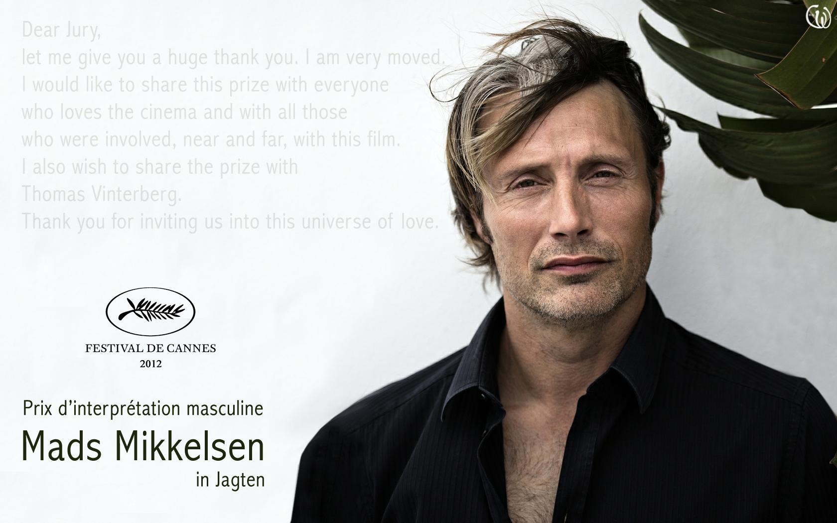 Mads Mikkelsen winner in Cannes