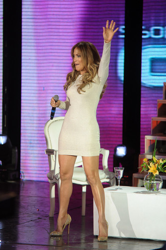 "Makes An Appearance On ""Sonando Por Cantar"" In Buenos Aires [20 June 2012] - jennifer-lopez Photo"