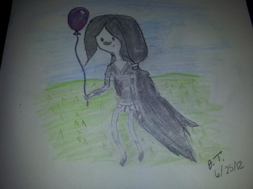 Marceline wit a balloon