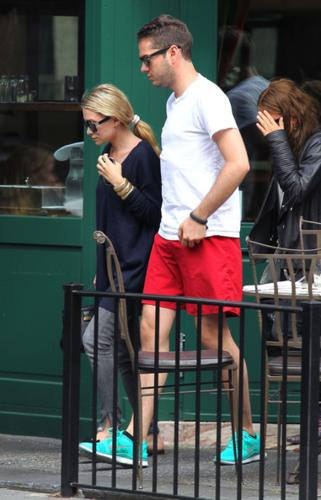 Mary-Kate & Ashley Olsen - In New York, June 18, 2012
