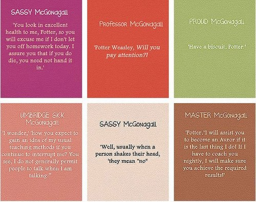 McGonagall's moods