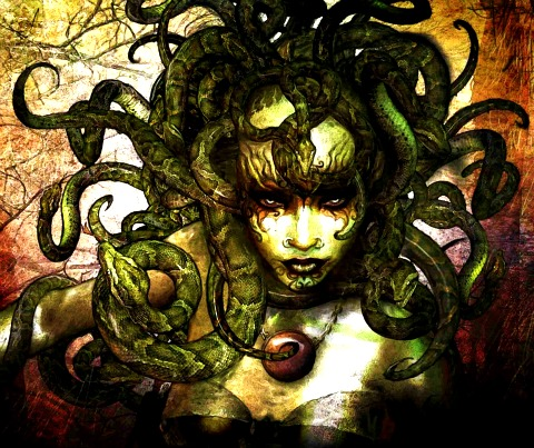 Fantasy images Medusa  wallpaper and background photos