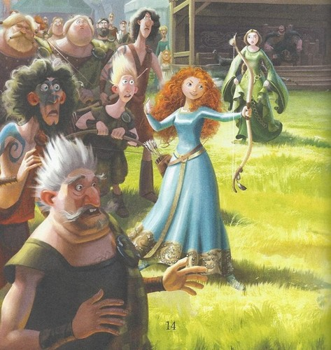 Ribelle - The Ribelle - The Brave wallpaper entitled Merida