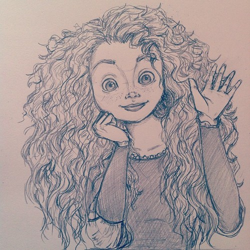 Merida fan art