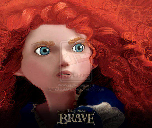 Merida fã art
