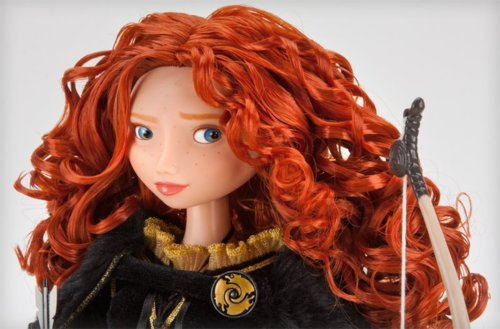 Merida's new collection Disney Store doll