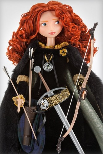 Merida's new collection डिज़्नी Store doll