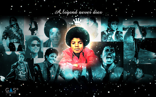 Michael Jackson - A legend never dies - michael-jackson Wallpaper