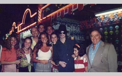 Michael in Brazil in 1993 ♥