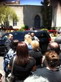 Michael's grave at forest lawn june 25th 2012 - michael-jackson photo