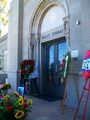 Michael's grave at forest lawn, glendale LA june 25th 2012 - michael-jackson photo