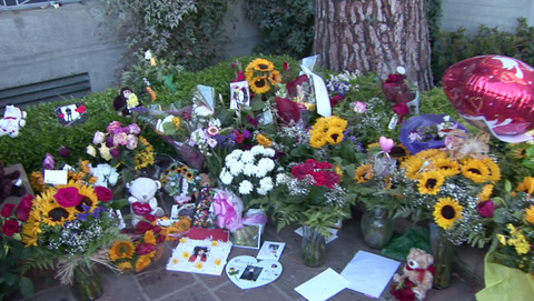 Michael's grave today - June 25th 2012