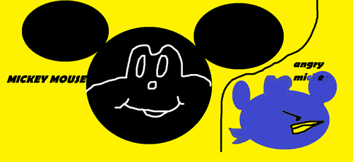 Mickey AnD Angry MIcKeY