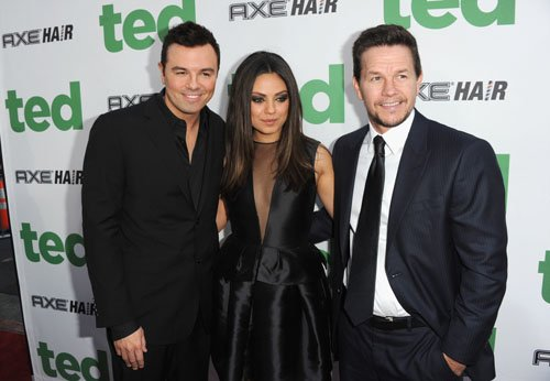 "Mila Kunis & Mark Wahlberg Premiere ""Ted"" in Hollywood"