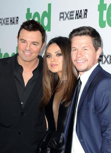 """Mila Kunis & Mark Wahlberg Premiere """"Ted"""" in Hollywood"""