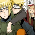 Minato, Naruto &amp; Jiraiya - minato-namikaze fan art