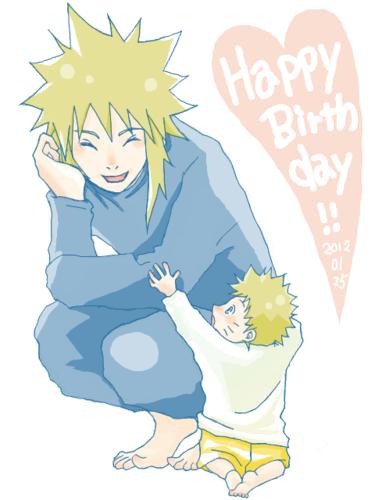 Minato and Naruto x3