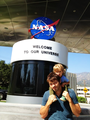 Misha and West at NASA - misha-collins photo