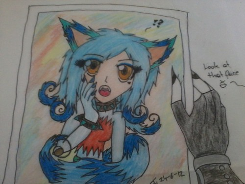 Mix of human/wolf --Jazzy ^^