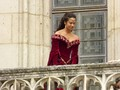 More Queen Guinevere on the Balcony (3)