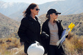 Morgan and Sara - csi photo