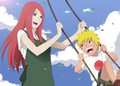 Mother and son - kushina-uzumaki photo