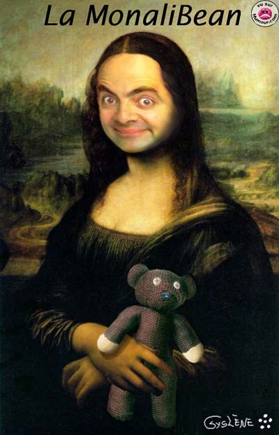 Mr Bean Mona Lisa