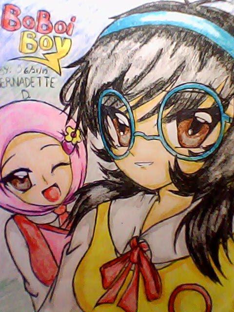 My অনুরাগী art of Ying and Yaya in anime....