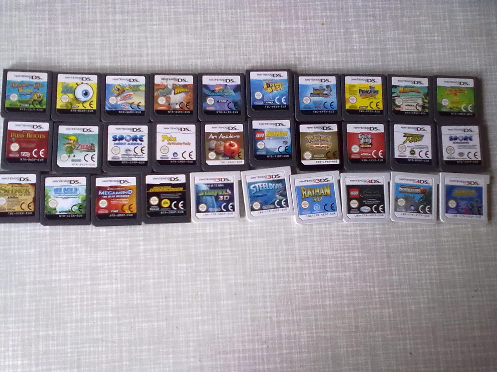 My Nintendo and Nintendo 3DS Games - Nintendo DS Photo ...