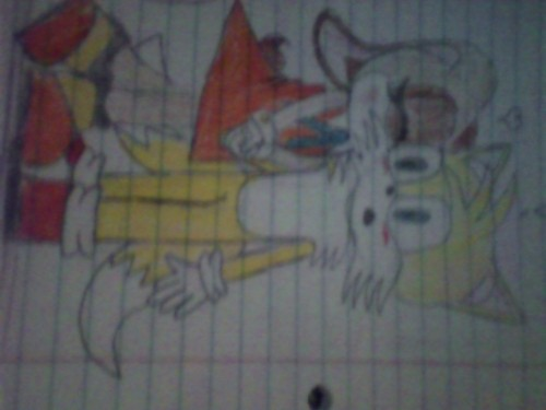 My Tails and Cream drawing