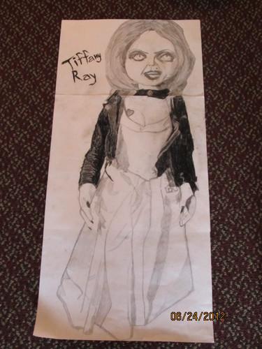My Tiffany rayon, ray Drawing