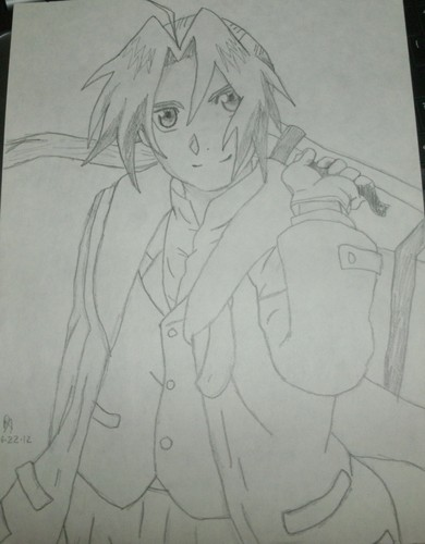 Full Metal Alchemist wallpaper titled My drawing of Ed