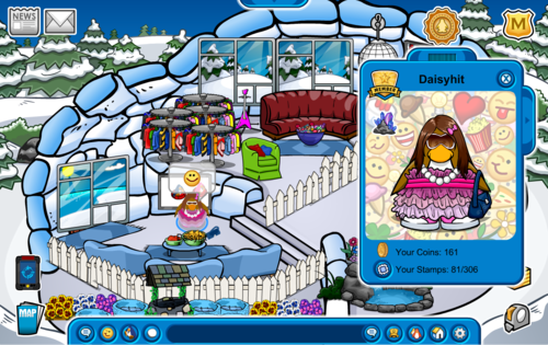 My pinguïn is a famous penguin. Im daisyhit door the way