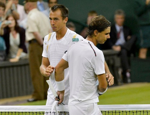 Nadal beat up 100th player Rosol ! - rafael-nadal Photo