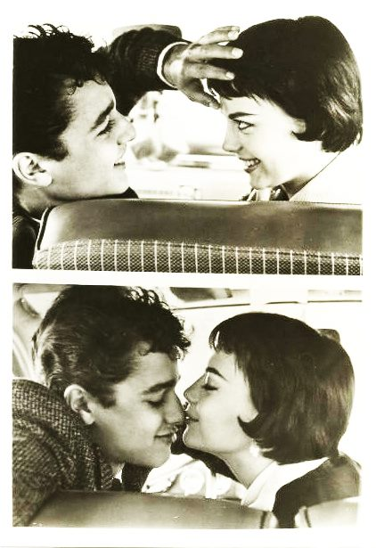 Nat and her former lover Sal Mineo