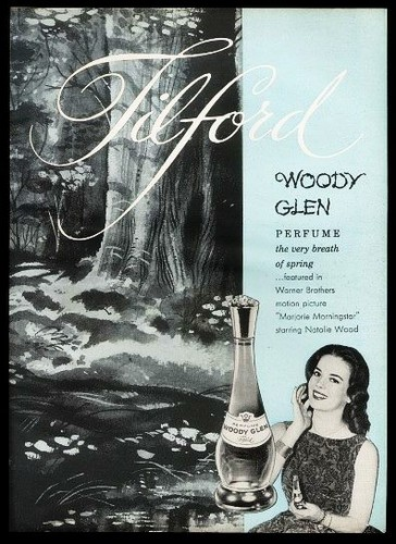 Nat's perfume called Woody Glen