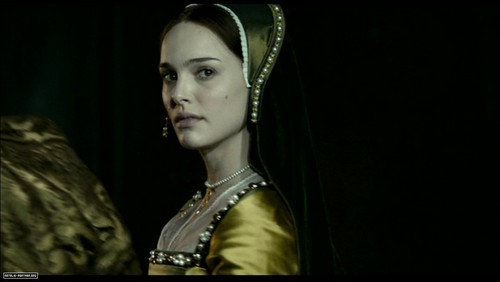 Tudor History wallpaper with a surcoat titled Natalie Portman as Anne Boleyn