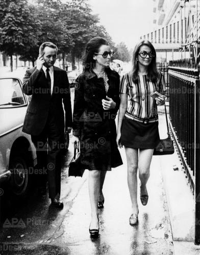 Natalie in Paris circa 1968