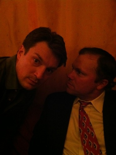Nathan Fillion & Adam Baldwin