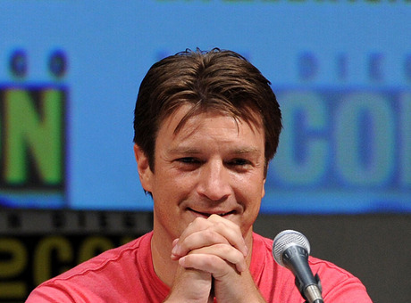 Nathan Fillion on the Super Panel at Comic-Con 2010