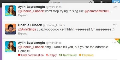 New Charlin Tweets ;)<3