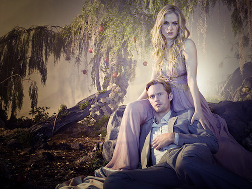 New Release Alexander Skarsgård & Anna Paquin for EW da Michael Muller.