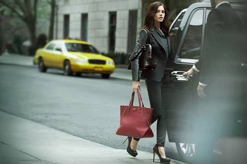 New outtakes of Ashley's Fall 2012 DKNY campaign.